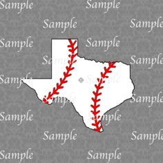 Texas Baseball SVG, DXF, EPS, PNG Digital File – Wickedly Cute Designs