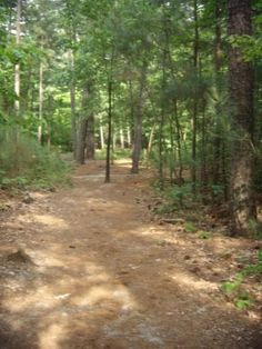 Umstead State Park in Raleigh, NC.....has good reviews!