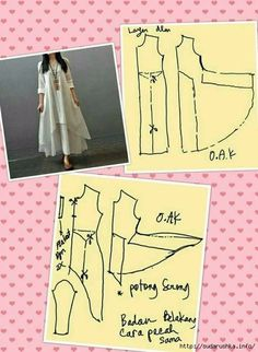Similar to magic dress - Best Sewing Tips Dress Sewing Patterns, Clothing Patterns, Linen Dress Pattern, Fashion Sewing, Diy Fashion, Sewing Clothes, Diy Clothes, Sewing Hacks, Sewing Tutorials