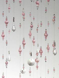 Large Light Pink Wedding Decoration Swarovski Crystal