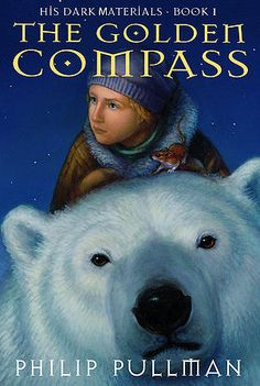 The Golden Compass (His Dark Materials series), by Philip Pullman- In a magical world where everyone has a daemon, or external animal representation of their spirt, trouble is brewing. Children are being snatched by Gobblers, being used in cruel experiments to separate them from their daemons.