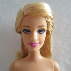 NEW Barbie Pink Passport Glam Vacation Doll Blonde Hair Blue Eyes ~ Nude