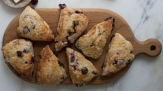 This Sour Cherry Chocolate Scones recipe combines the tartness of the cherries against the richness of the chocolate. Get the recipe at PBS Food.