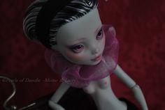 ~ Momo & Lacey monster high repaint ~ Amethyst ~ Frankie Stein ~