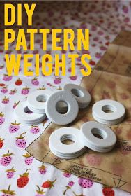 olive bunny: How to: Plasti Dip Sewing Pattern Weights