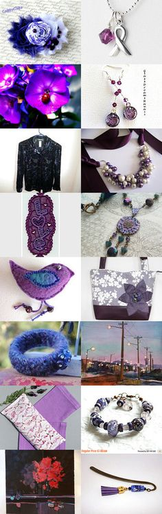 for the  LOVE of PURPLE by Nancy on Etsy--Pinned+with+TreasuryPin.com