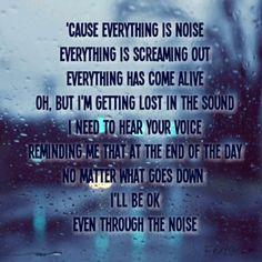 Noise-Colton Dixion #Noise #ColtonDixon #lyrics