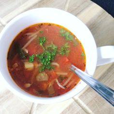 Recept van schoonmoeder, heerlijke maaltijd soep!