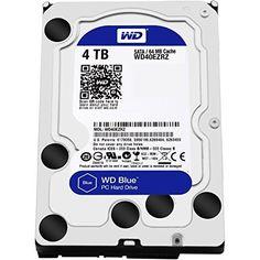 WD Blue 4TB  Desktop Hard Disk Drive  5400 RPM SATA 6 Gbs 64MB Cache 35 Inch   WD40EZRZ ** Amazon most trusted e-retailer  #ElectroncsDeals