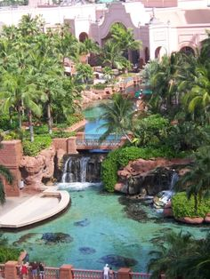Atlantis Vacation Spot, Nassau, Bahamas