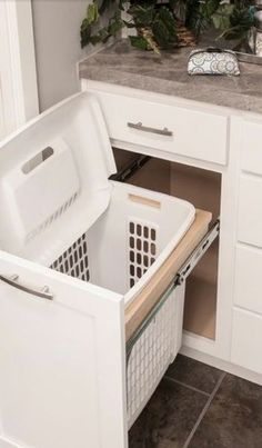 get more room in a small bathroom - dirty clothes small bathroom - bathroom storage ideas