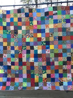 Patchwork Quilt, Queen Quilt, Handmade Quilt, Quilt, Quilts, Bed Quilt, Queen Bedding, Queen Blanket, Ready to Ship Quilt, Ready to Ship, 1