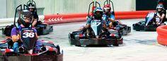 Autobahn Indoor Speedway- Jacksonville Go Kart Racing Fun