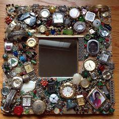 New Vintage Jewelry Diy Projects Old Watch Ideas - New Vintage Jewelry Diy Projects Old Watch Ideas - About Neue Vintage Schmuck Diy Projekte Alte Uhren Ideen - Neue Vintage Schmuck Diy P. Costume Jewelry Crafts, Diy Jewelry Unique, Diy Jewelry To Sell, Vintage Jewelry Crafts, Jewelry Making, Jewelry Frames, Jewelry Art, Beaded Jewelry, Jewelry Rings
