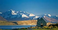 Towns South Island New Zealand Lake Tekapo