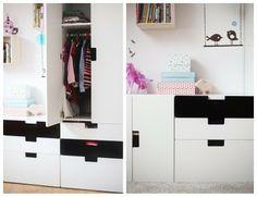 Ikea Stuva black & white