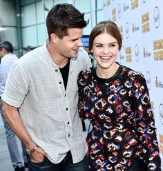 """dylanobrien: """"Max Carver and Holland Roden attend the premiere of 'Digging For Fire' at ArcLight Cinemas on August 2015 in Hollywood, California """" Max Carver, Max And Charlie Carver, Carver Twins, In Hollywood, Hollywood California, Stiles And Lydia, Teen Wolf Cast, Lydia Martin, Sterek"""