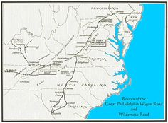 Great Philadelphia Wagon Road and Wilderness Road
