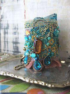 Boho bracelet by AllThingsPretty <3 via Flickr