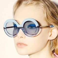 New Fashion Oversized Round Sunglasses