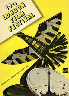 Stellar series of graphic design: London Film Fest posters since first event.