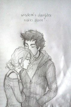 as long as percy lives annabeth will never be alone