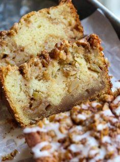 Apple Fritter Cake, Baked Apple Fritters, Apple Fritter Recipes, Easy Apple Fritters Recipe, Quick Bread Recipes, Best Dessert Recipes, Fun Desserts, Delicious Desserts, Easy Apple Desserts
