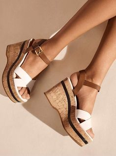 99adf3bb6340 Michael Michael Kors Chandler Cork Wedge  sandals  shoes