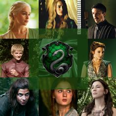 The Sorceror's Throne: Game of Thrones Hogwarts sorting - Slytherin [fanpup.me]
