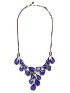 Our Sapphire Dew Drop Bib!