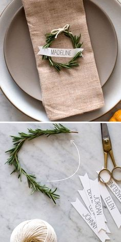 50 Best DIY Christmas Table Decorations | Meowchie's Hideout