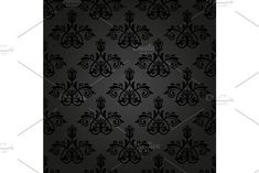 Oriental vector pattern with damask, arabesque and floral elements. Victorian Design, Arabesque, Vector Pattern, Abstract Backgrounds, Oriental, Graphic Design, Damask Patterns, Illustration, Floral