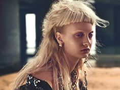codie young punk beach5 Codie Young is Punk at the Beach for W Korea by Philip Riches