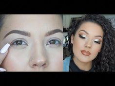 #MakeupTutorialEyeliner Hooded Eye Makeup, Hooded Eyes, Makeup Tutorial Eyeliner, Eyeliner Styles, Makeup For Beginners, Winged Eyeliner, Makeup For Brown Eyes, Glam Makeup, Gorgeous Makeup