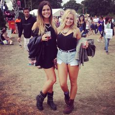 UK Girls. Festival Fashion #rerepresent