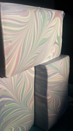 Handmade Soap. Swirled Soap with Ricemilk. Made by Soap Street 339