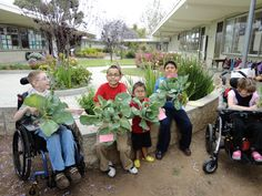 """Patti is a teacher at Lindbergh Schweitzer Elementary in San Diego, CA. """"The garden program has coupled our special needs classes with our general education classes to bring the students together to work on recycling and gardening projects that are beneficial to all."""" #diggingdeeper"""