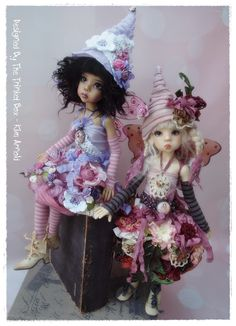 Bella Blossom Fairy Sets - Hope & Layla By Kaye Wiggs