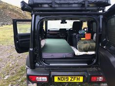 A thick mattress makes a big difference Top Tents, Roof Top Tent, New Suzuki Jimny, Jimny Sierra, Roof Basket, Roof Storage, Camping Mattress, Bushcraft, Good Night Sleep