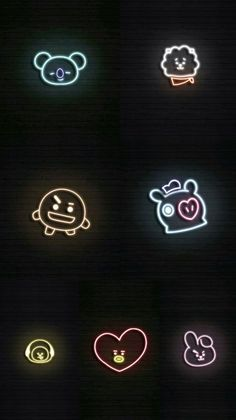 63 ideas for aesthetic wallpaper bts iphone Wallpaper Telephone, Neon Wallpaper, Trendy Wallpaper, Cute Wallpapers, Wallpaper Samsung, Bts Taehyung, Bts Jimin, Bts Backgrounds, Bts Chibi