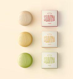 Suavina - Lips protector / Brand and packaging designed by Lavernia & Cienfuegos a multidisciplinary design studio based in Valencia, Spain. Yogurt Packaging, Soap Packaging, Cosmetic Packaging, Brand Packaging, Packaging Ideas, Lip Balm Brands, Cienfuegos, Creativity And Innovation, Innovation News