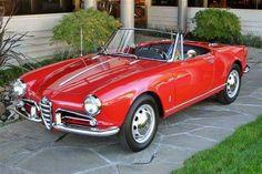 1960 Alfa Romeo Giulietta Spider. #coolscars