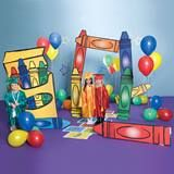 Set up colorful decorations for play, graduation, and other events with our Crazy Crayons Prop Set. Pre K Graduation, Kindergarten Graduation, Graduation Decorations, Graduation Party Decor, School Decorations, Balloon Decorations, K Crafts, Fun Arts And Crafts, Preschool Transitions