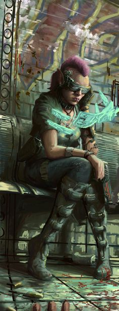 ArtStation - Cyberpunk, Joe Shawcross