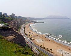 Costa Verde, Lima, Peru.