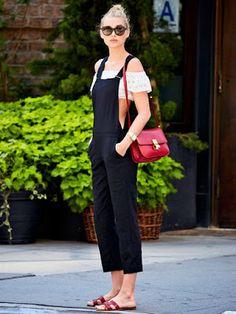 Fashion Beauty Express: エルザ・ホスク(Elsa Hosk)も涼しく過ごす。 オフショルダートップスは猛暑の救世主!