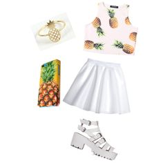 A fashion look from January 2015 featuring H&M skirts. Browse and shop related looks.