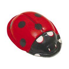 Ανέμη Μεταλλική Πασχαλίτσα με Ήχο - Sunnyside Ladybugs, Bicycle Helmet, Hats, Hat, Ladybug, Cycling Helmet