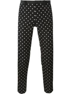Shop Dolce & Gabbana jacquard trousers in Bonvicini from the world's best independent boutiques at farfetch.com. Shop 400 boutiques at one address.