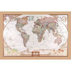 Canvas world map kmart decorating stuff pinterest canvases the world map gumiabroncs Images